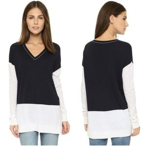 Vince | Colorblock Easy Fit Sweater